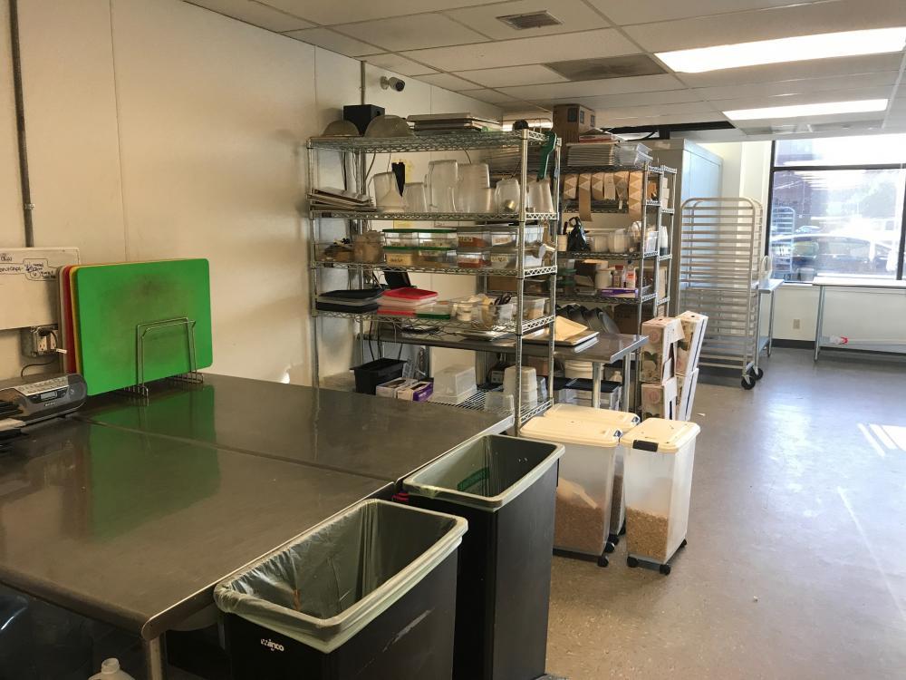 Seattle Commissary Kitchen (Marginal Location)