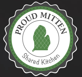 Logo Proud Mitten Shared Kitchen