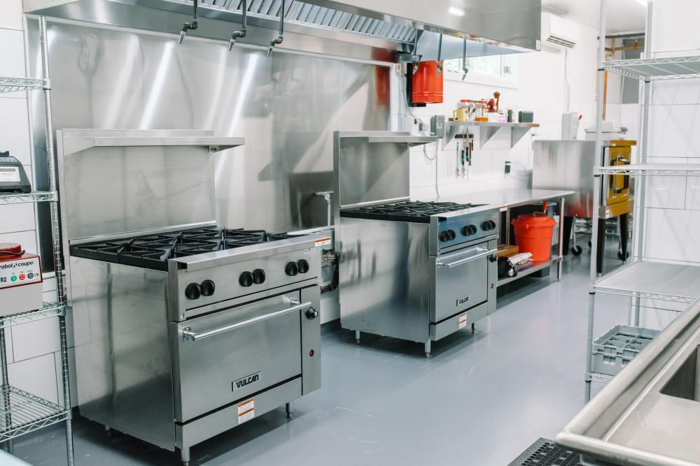 Orange Door Kitchen