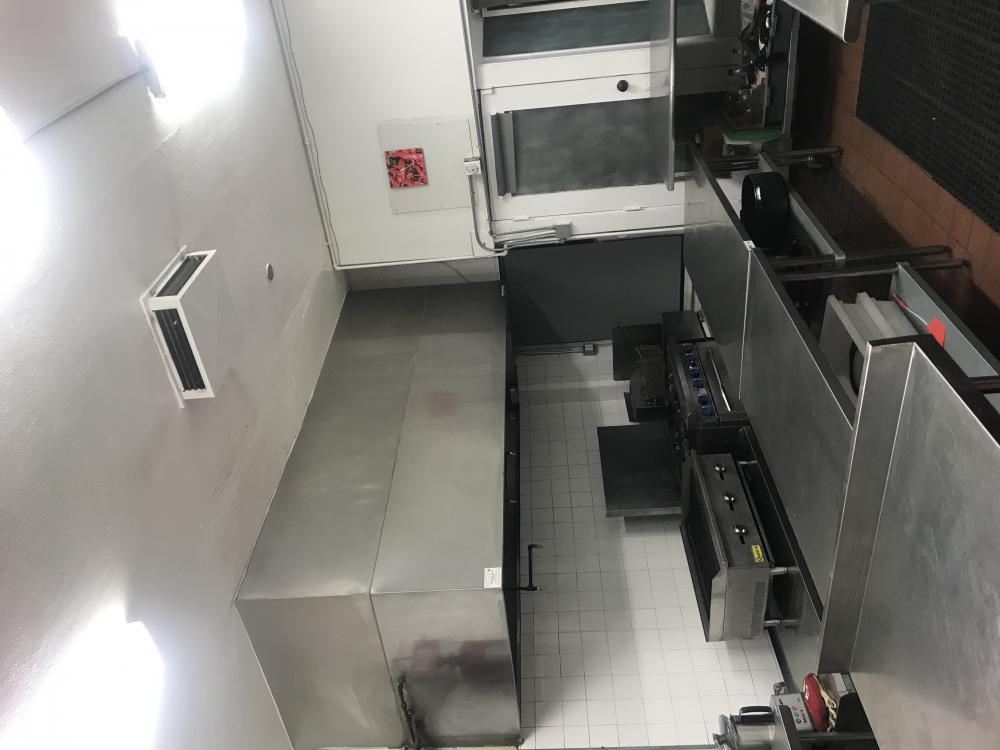 Commercial Kitchen in Hellman Historic District Long Beach