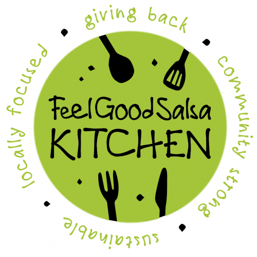 Logo Feel Good Salsa Commercial Kitchen - Hellman Historic District Long Beach