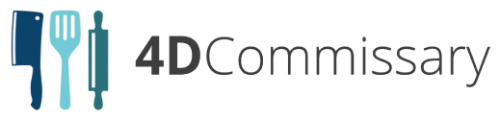 Logo 4D Commissary #4 - Sahara