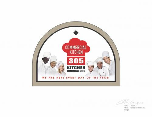 Logo Commercial Kitchen 305