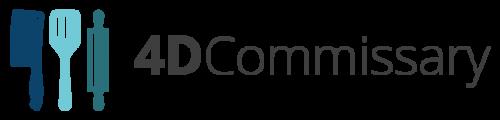 Logo 4D Commissary #3 - Dean Martin
