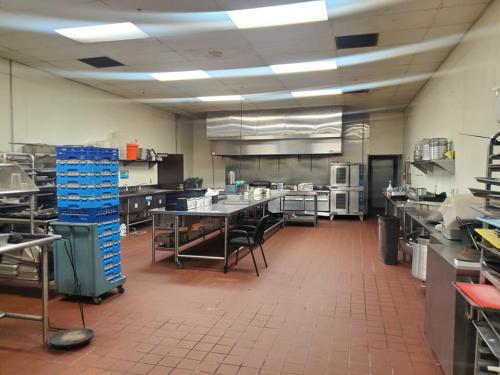 Logo Fully Commercial Kitchen ready to use as needed