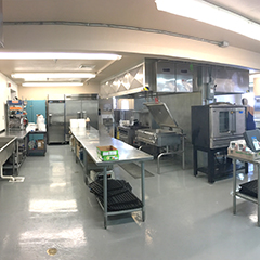 Business Incubator Center Kitchen