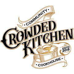 Logo Crowded Kitchen Community Cookhouse