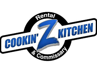 Logo Cookin' Z Kitchen Rental & Commissary