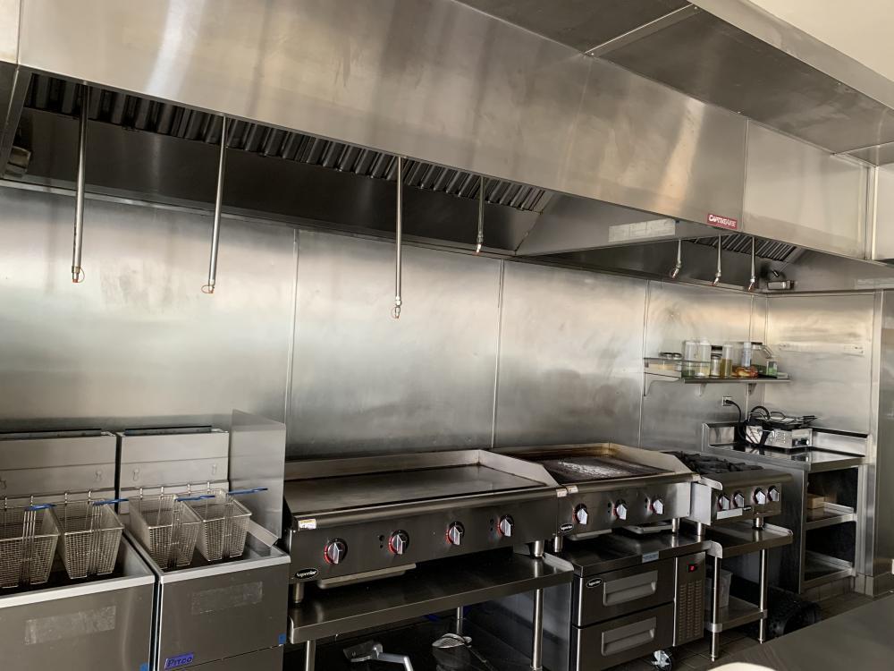 Large Commercial Prep Kitchen - Downtown Long Beach