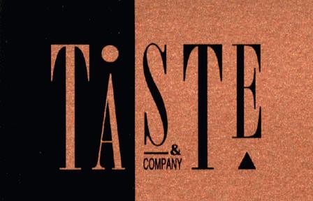 Logo Taste and Company