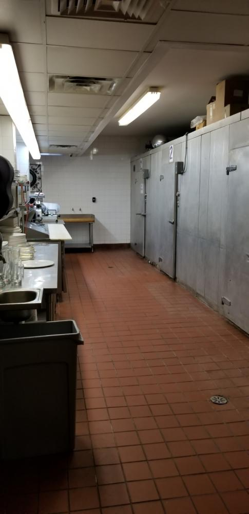 2500 square foot commercial kitchen