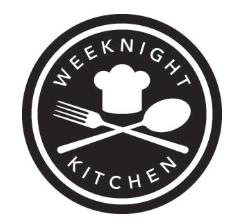 Logo Weeknight Kitchen Commissary